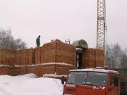 Зима - трудное время для стройки, февраль 2004 г.