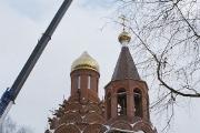 Купол есть, креста еще нет, декабрь 2005 г.