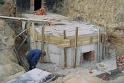 Фундамент часовни, июнь 2005 г.