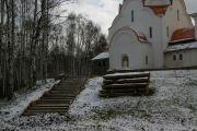 Фундамент северной лестницы, ноябрь 2009 г.
