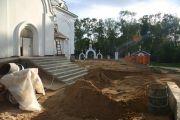Подготовка подушки под бетон, август 2010 г.
