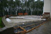 Дождь. Кубометры под пленкой, 1 сентября 2010 г.