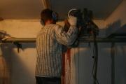 Бурение вентиляционных отверстий, сентябрь 2011 г.