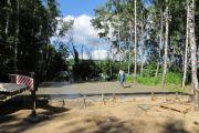 Растяжка бетона, июнь 2013 г..