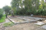 Освободилось место под строительство дома причта, сентябрь 2013 г.