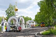Начались работы по укладке асфальта на парковке, июнь 2014 г.