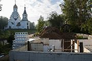 Фундаментные работы в подвале дома притча, сентябрь 2014 г.