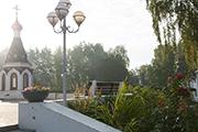 Появились удобные лавочки на верхней площадке, сентябрь 2014 г.