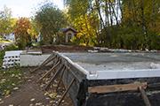 Работы по перекрытию потолка в подвале  дома притча, сентябрь 2014г.