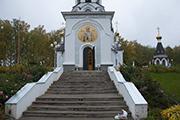Закрытие парапета лестницы Главного входа листами оцинкованного железа, октябрь 2014г.