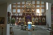 Первый этап строительства Царских врат, апрель 2015 г.