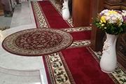Появились новые ковровые покрытия на солее, август 2016 г.