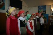 Дети порадовали взрослых стихами и песнями