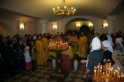 По окончании богослужения был торжественно совершен молебен