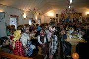 Учащиеся Воскресной школы поздравили всех собравшихся концертом