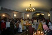 В нашем храме была совершена ночная служба