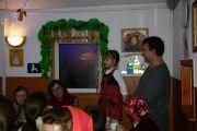 Ксения и Сергей Черкасовы прочитали стихотворения о Рождестве Христовом