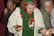 Благодарственный молебен в честь 69-й годовщины Победы в Великой Отечественной войне.