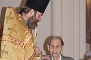 Поздравление с именинами старейшего прихожанина храма Сергея Ивановича Пачина