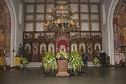 Украшение храма к Престольному празднику