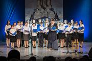Детский хор Владимирского храма под руководством Е.М. Оловянниковой