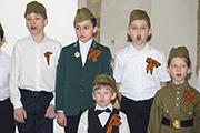 Праздничный концерт воспитанников Воскресной школы для ветеранов