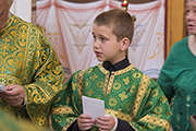 Молебен  святителю Николаю Чудотворцу