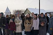 Группа паломников нашего храма в монастыре. Никитский мужской монастырь — монастырь, расположенный на северной окраине города Переславля-Залесского, рядом с национальным парком Плещеево озеро. Один из древнейших монастырей России. Посвящён святому Никите