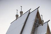 Храм Сергия Радонежского – маленький и скромный, как олицетворение главной добродетели преподобного – смирения.