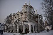 Административный корпус с храмом св. блж. Ксении Петербургской.