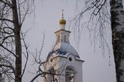 Звонница храма Успения Богородицы.