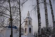 В Успенском храме хранится и главная святыня Николо-Сольбинского монастыря. Это старинная икона святителя Николая Чудотворца с частицей его мощей.