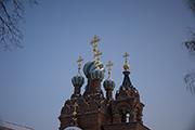 Купола храма  Святителя Спиридона Тримифунтского.