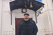 Певчий нашего клироса Дмитрий.