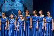 Выступают хоровые коллективы Мытищинского благочиния.