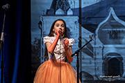Участница Рождественского концерта.