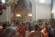 Божественная литургия.