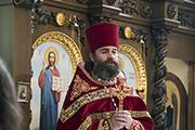 Поздравление настоятеля храма о.Георгия.