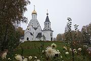 Октябрь, Никольский храм.