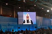 Встреча со Святейшим Патриархом Московским и всея Руси Кириллом.