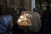 Прощеное воскресенье в Никольском храме
