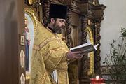 Настоятель храма протоиерей Георгий Болгарский.