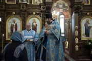 Поздравление м. Анны, которая организовала в нашем храме чтение молитвы по соглашению.