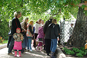 Дивеевские паломники, фото предоставлено Н.Карасевой.