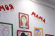 Выставка в Воскресной школе к дню Матери при храме свт. Николая Чудотворца.