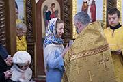 Поздравление именинников - прихожан нашего  храма.