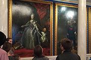 Зал русского императорского парадного портрета.
