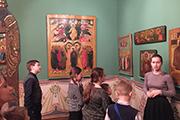"""""""Дороже России для меня нет ничего, и ее возрождение"""", - говорил Илья Глазунов, открывая этот музей. К сожалению, через месяц после открытия художника не стало."""