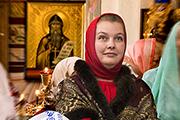 Александра Мячинская, сделавшая подарок храму в свой День рождения.