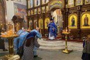 Праздник Похвалы Божией Матери в Никольском храме
